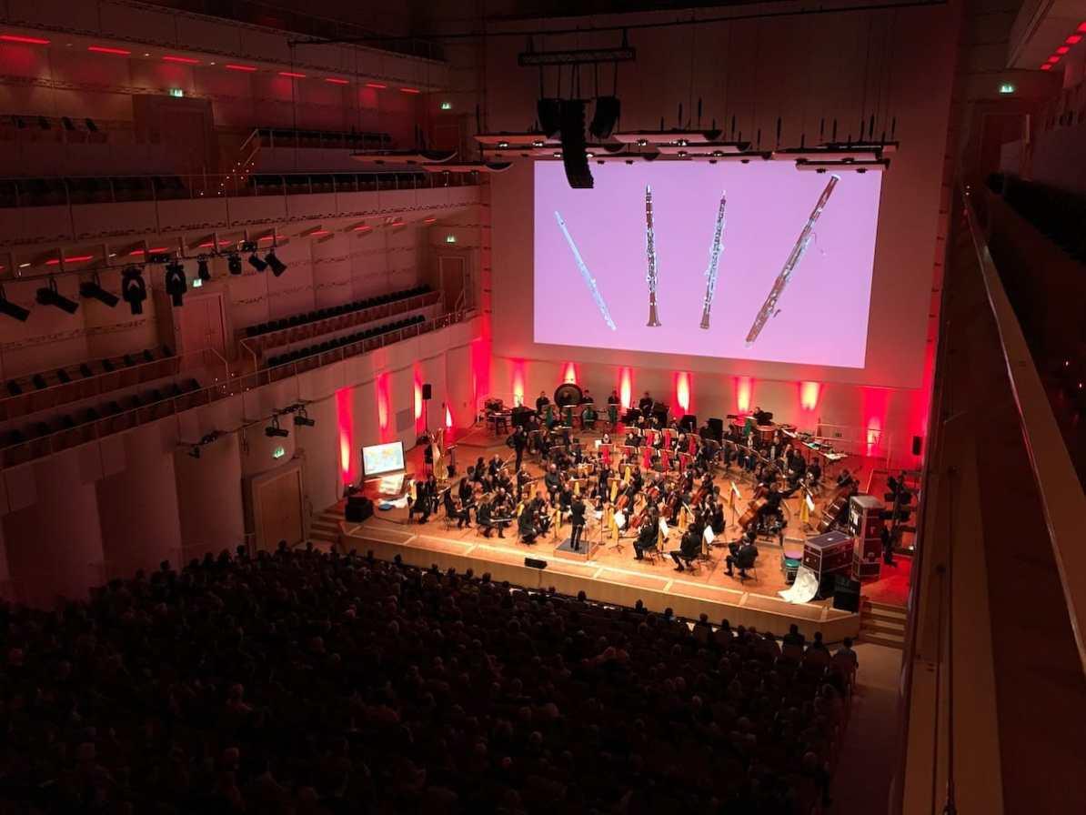 Das 1. Familienkonzert 2017/18 Foto: A. Schürer/Dortmunder Philharmoniker