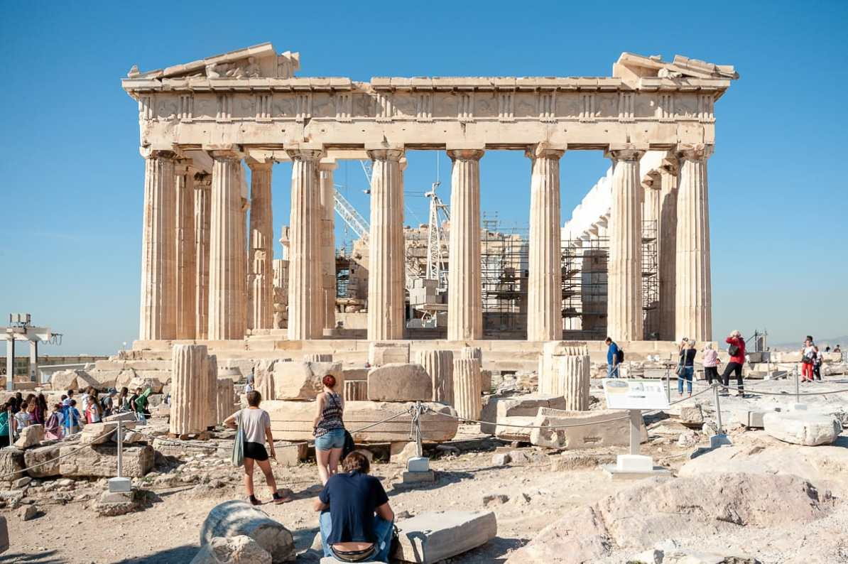 Parthenon in Athen (2014)