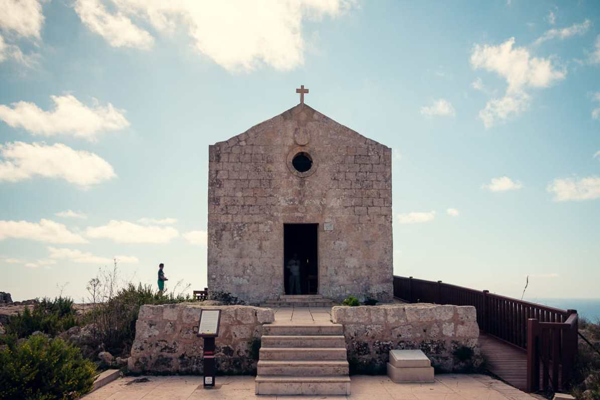 St. Mary Magdalene Chapel, Dingli Cliffs