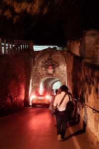 Tunnel zwischen Rabat und Mdina