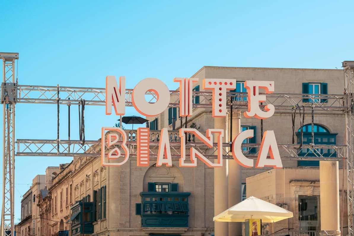 Notte Bianca - eines der zahlreichen Festivals auf Malta