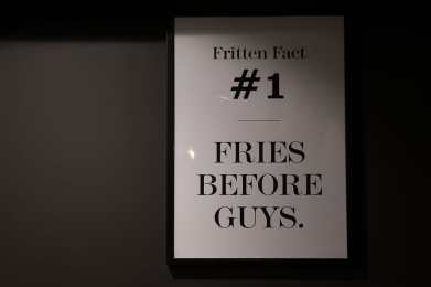 Fries before guys - nuff said.
