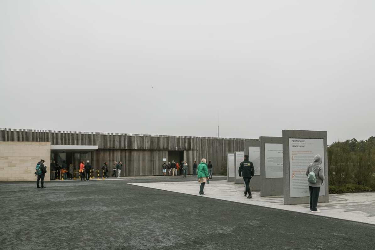 Besucherzentrum Pointe du Hoc