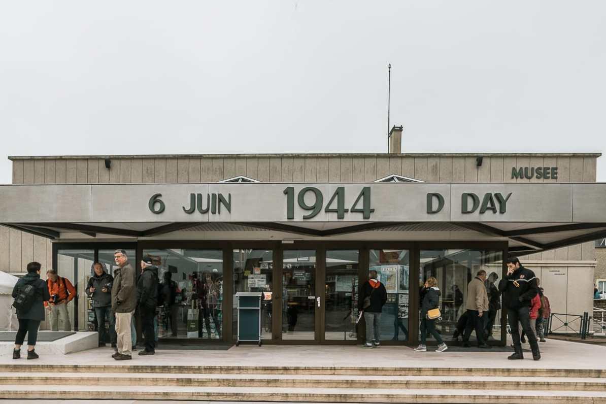 D-Day-Museum in Arromanches-les-Bains.