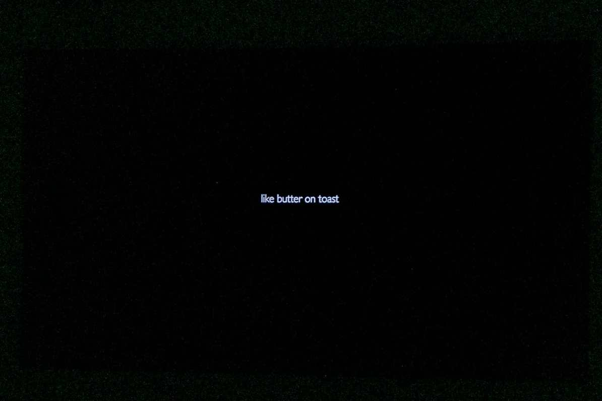 Like Butter on Toast - Titelbild der Dokumentation.