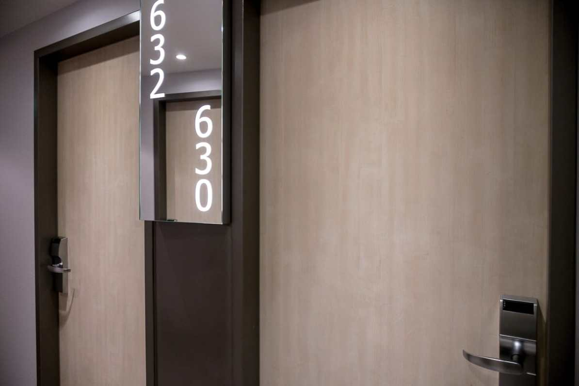 Die Zimmertür von Zimmer 630, Mercure Hotel Berlin City