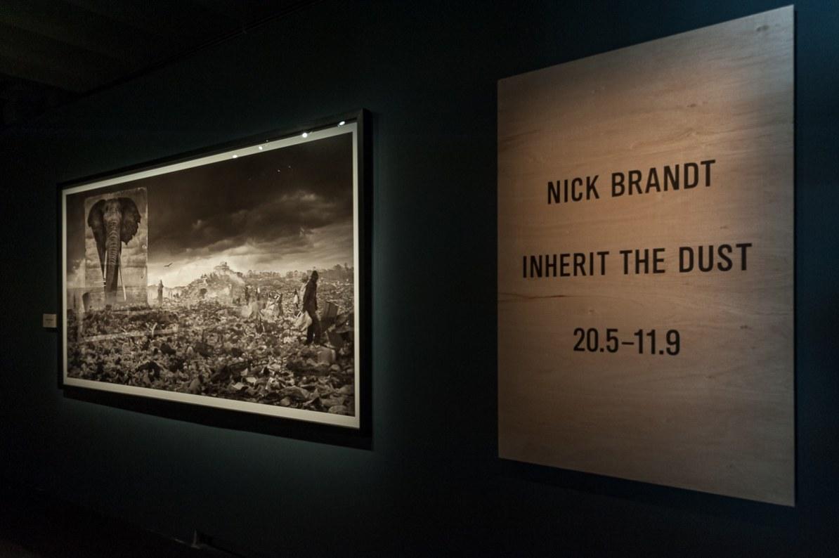 "Anfang der Nick Brand ""Inherit the Dust""-Ausstellung, Fotografiska Museum in Stockholm, 2016"