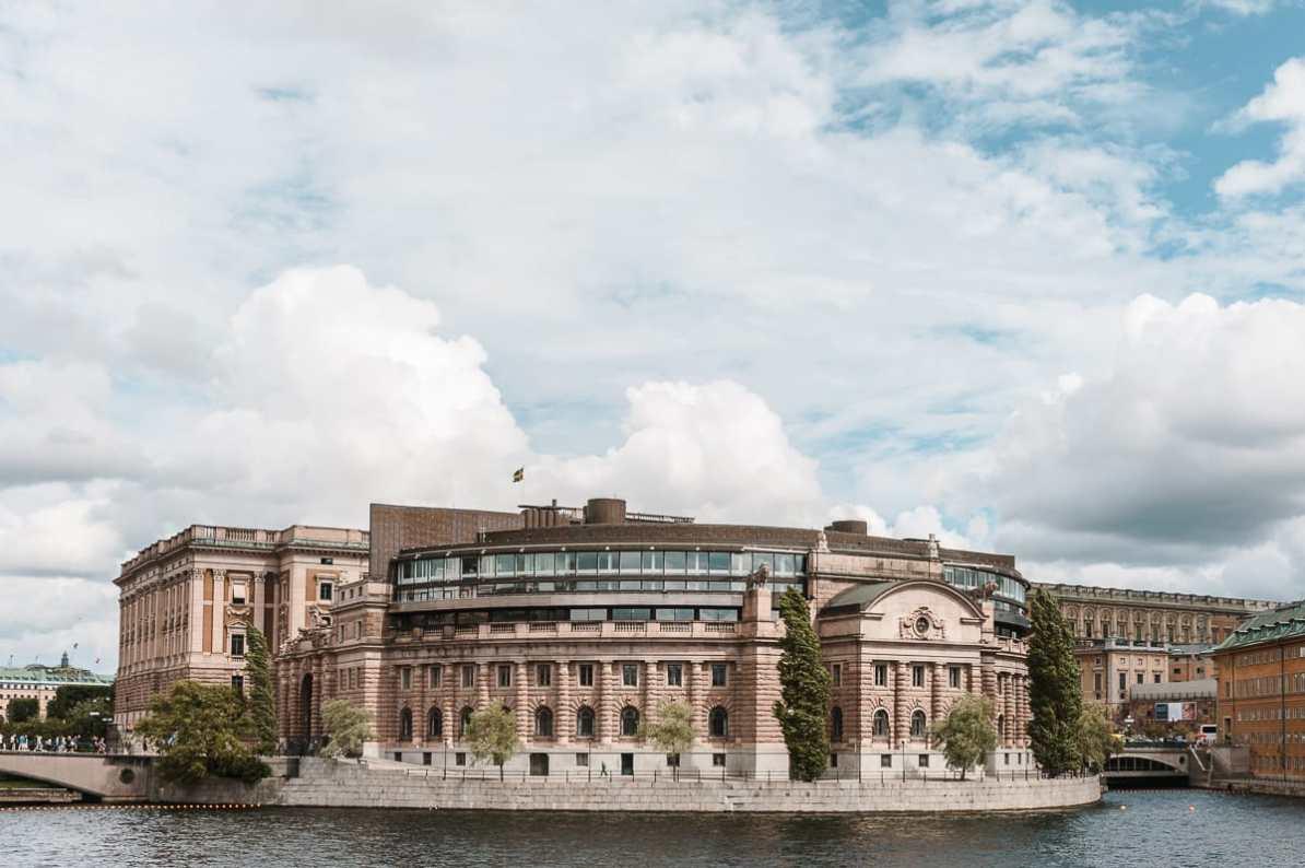 Der schwedische Reichstag