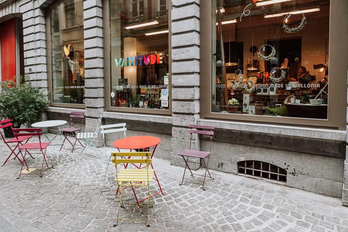 Wattitude - Made in Wallonia - Laden für wallonische Produkte von außen
