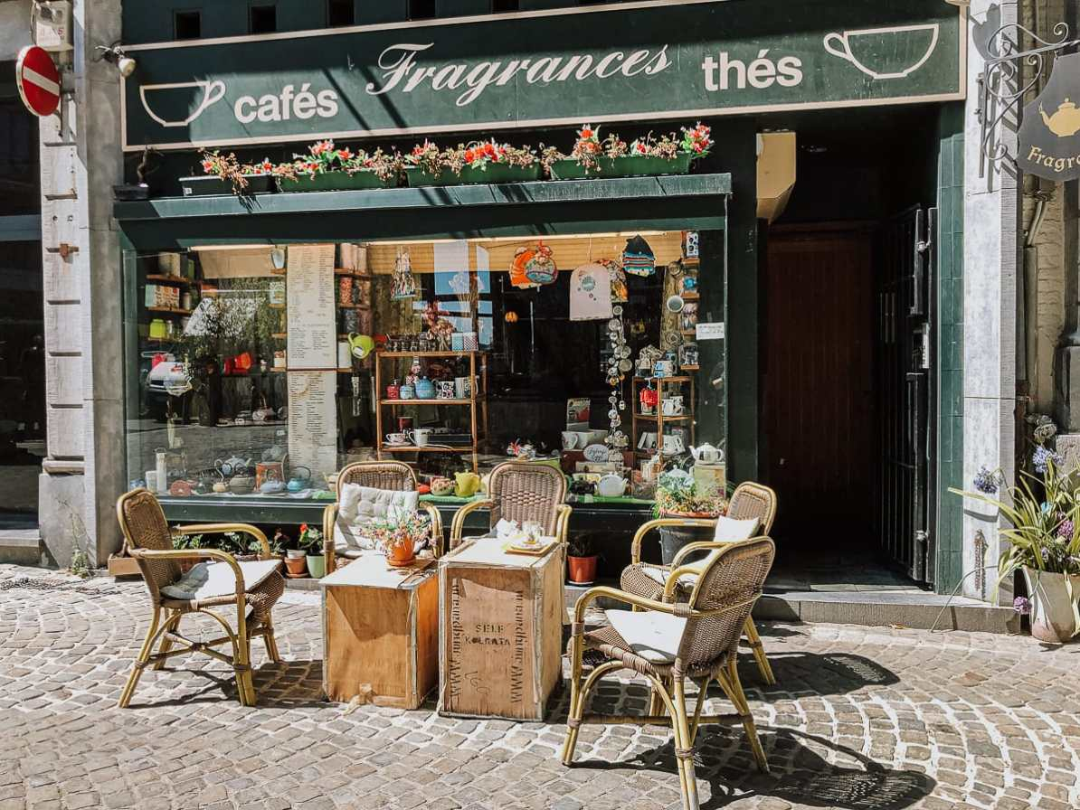 Teeladen Fragrances in der Gasse En Neuvice, Lüttich