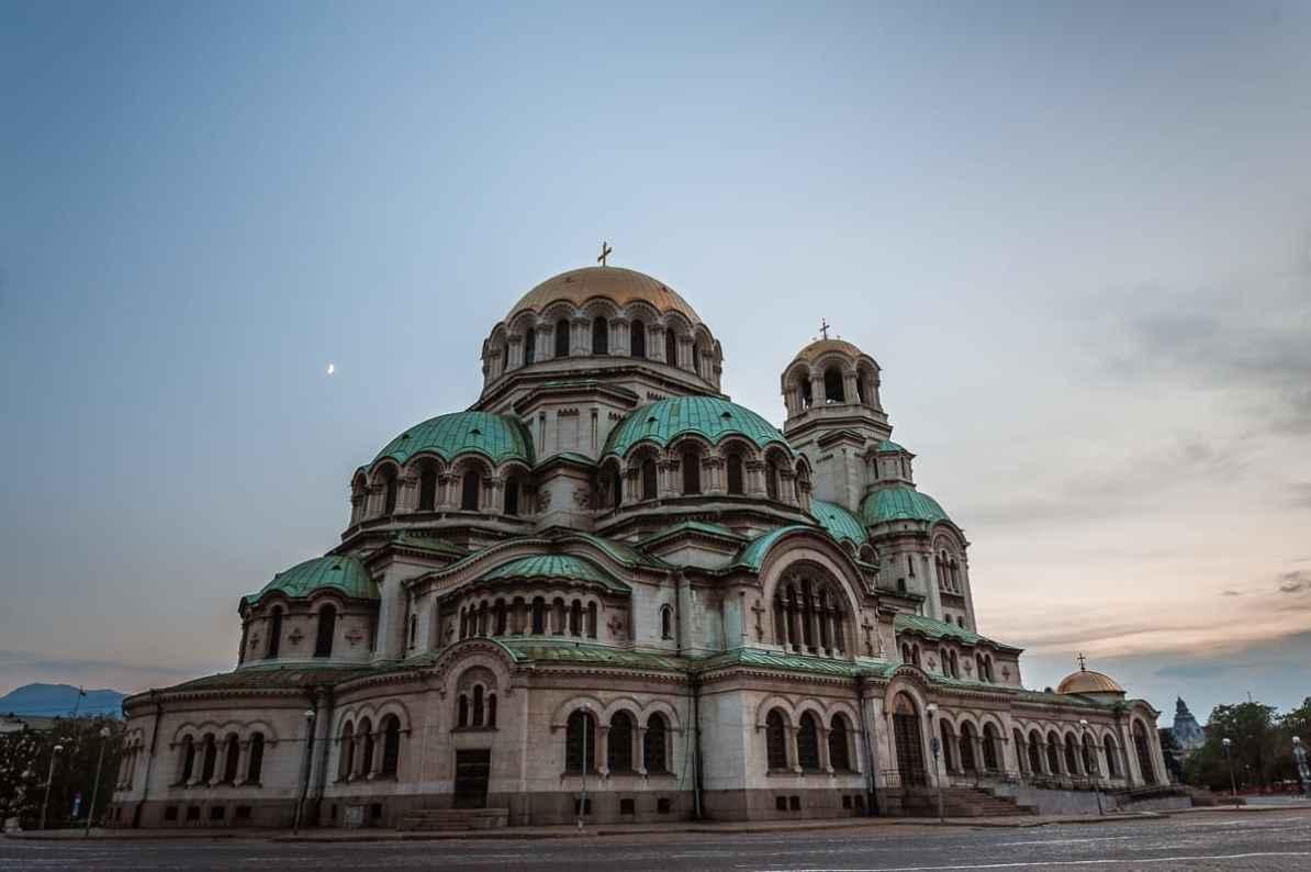 Patriarchalkirche der bulgarisch-orthodoxen Kirche: die Alexander-Newski-Kathedrale in Sofia.