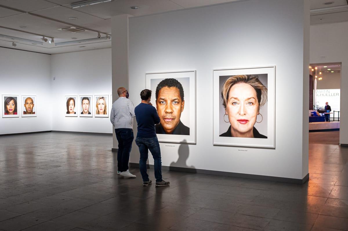 Potraits mit Denzel Washington und Merryl Streep
