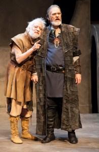 The Fool (Bobby Miller) and King Lear (John Contini), photo by John Lamb