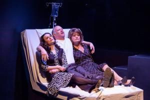 Julie Layton, John Pierson, Amy Loui Photo by John Lamb St. Louis Actors' Studio