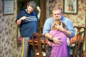Daniel Lanier, Greg Johnston, Michelle Hand Photo by John Lamb Mustard Seed Theatre