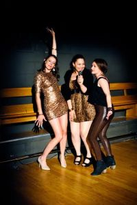 Ellie Schwetye, Wendy Renee Greenwood, Cara Barresi Photo by Joey Rumpell Slightly Askew Theatre Ensemble