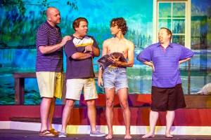 Jonathan Hey, Stephen Peirick, Chris Tipp, Patrick Kelly Photo by John Lamb Stray Dog Theatre