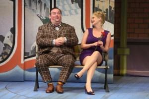 Raymond McAnally, Ruth Pferdehirt Photo by Jerry Naunheim, Jr. Repertory Theatre of St. Louis
