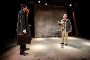 Reginald Pierre, John Flack Photo: Todd Studios HotCity Theatre