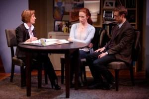 Susan Pellegrino, Leigh Williams, Alex Hanna Photo by Jerry Naunheim, Jr. Repertory Theatre of St. Louis