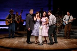 Jason Edwards, Allison Briner, Trenna Barnes, Derek Keeling Photo by Jerry Naunheim, Jr. Repertory Theatre of St. Louis