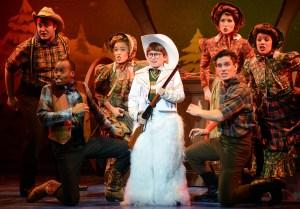 Colton Maurer and Cast Photo: A Christmas Story National Tour