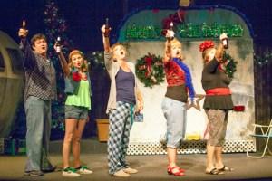 Kevin O'Brien, Jessica Tilghman, Paula Stoff Dean, Kay Love, Laura Kyro Photo by John Lamb Stray Dog Theatre
