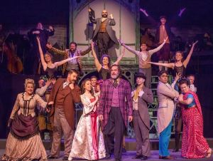 Cast of The Mystery of Edwin Drood Photo by John Lamb Stray Dog Theatre