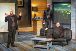 Drew Battles, Larry Dell, John Pierson Photo by John Lamb St. Louis Actors' Studio