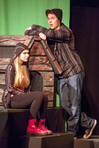 Sierra Buffum, Ryan Wiechmann Photo by John Lamb Stray Dog Theatre