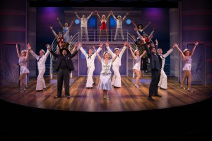 Cast of Anything Goes Photo by Peter Wochniak STAGES St. Louis
