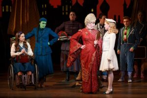 Cast of Wicked Photo by Joan Marcus Wicked US National Tour
