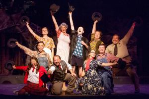 Cast of Bat Boy: The Musical Photo by John Lamb Stray Dog Theatre