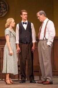 Sigrid Wise, Pete Winfrey, John Contini Photo by John Lamb Insight Theatre Company