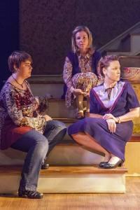 Katy Keating, Michelle Hand, Kirsten De Broux Photo by John Lamb Mustard Seed Theatre