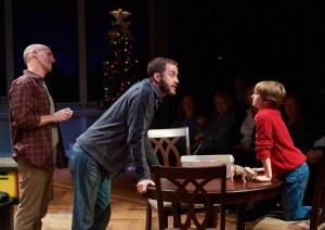 Harry Bouvy, Michael Keyloun, Simon Desilets Photo by Peter Wochniak Repertory Theatre of St. Louis