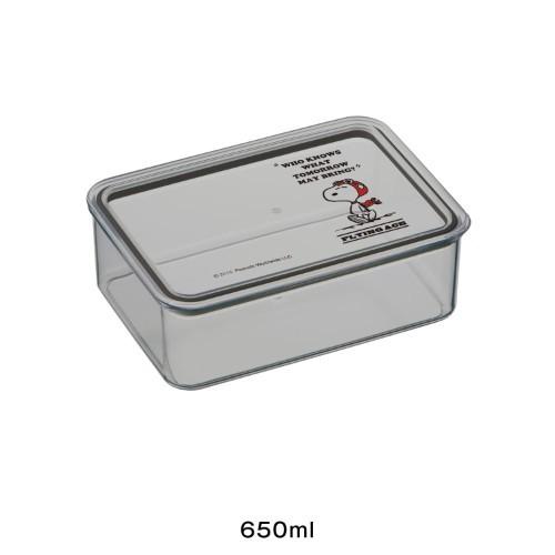 スヌーピー 食品保存ケース 650ml