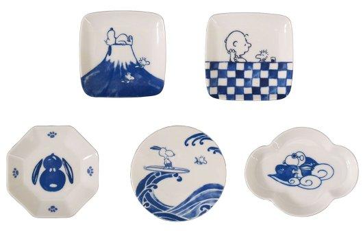スヌーピー 豆皿