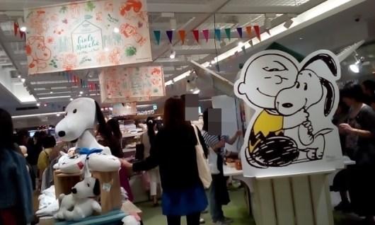 スヌーピー ルミネ新宿 コラボ