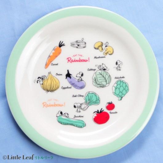 スヌーピー野菜柄の食器