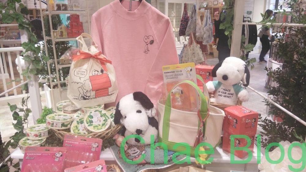 スヌーピー阪急西宮のお店☆2019年1月バレンタイン期