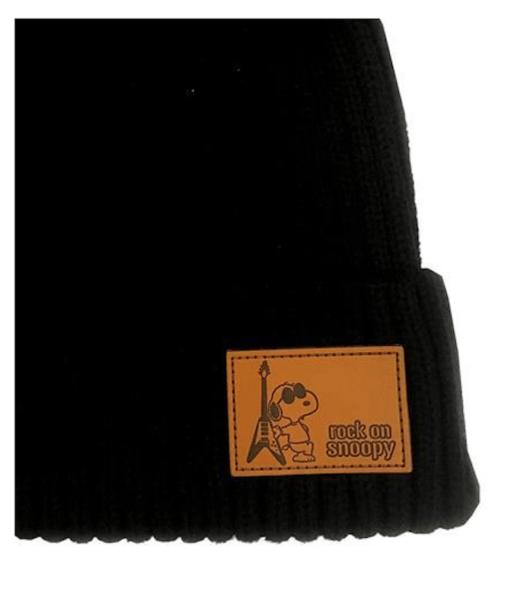 スヌーピーのロフトニット帽セール品