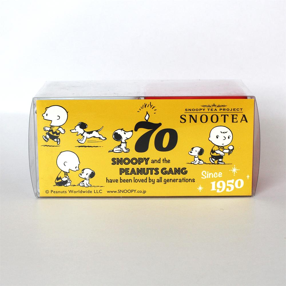 スヌーピーの紅茶「スヌーティー」2缶セット
