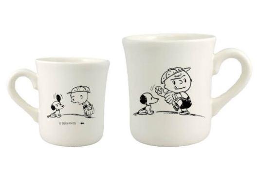 スヌーピーのマグカップ&プレート