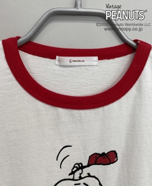 スヌーピーとレイジブルーのコラボTシャツ2020