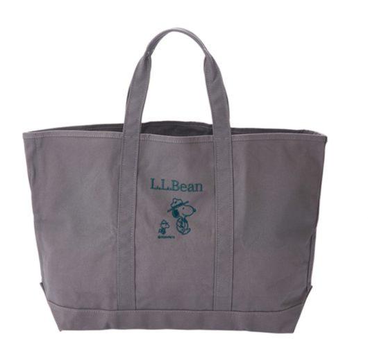 スヌーピーとL.L.BeanのPLAZA通販コラボグッズ2020