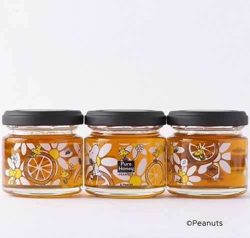 スヌーピーの新作はちみつ・オレンジの花のハチミツ