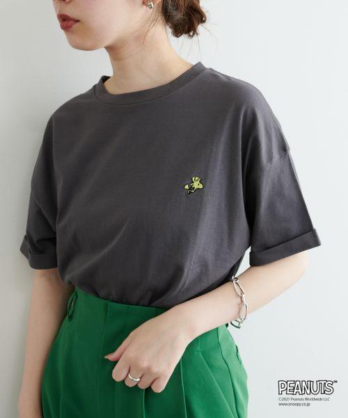 スヌーピー×ナチュラルクチュールのTシャツ2021