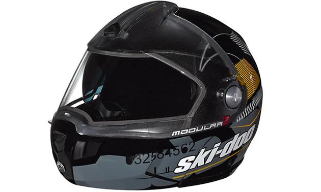 Modular  Helmet From Ski Doo