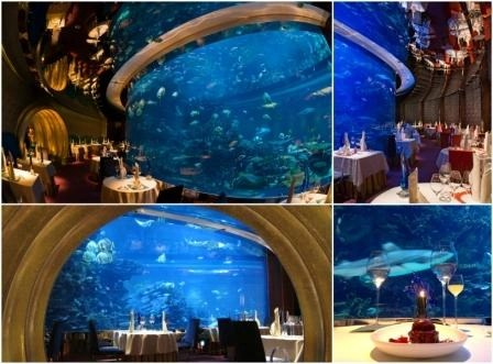 Underwater Restaurant - al mahara